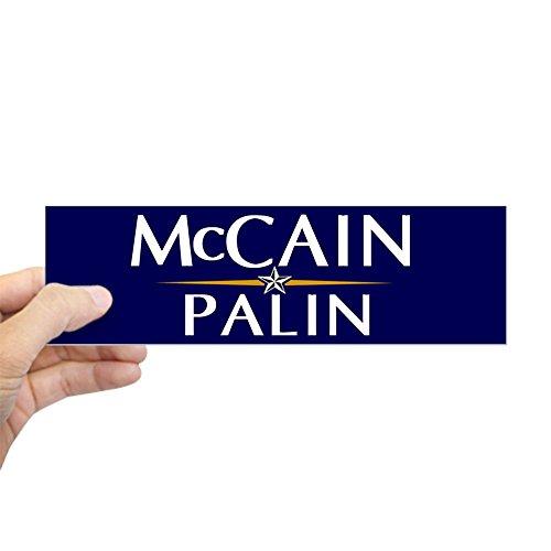 CafePress - Mccain / Palin Official Logo Bumper Sticker - 10