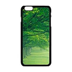 Personalized Creative Cell Phone Case For iPhone 6 Plus,misty fresh green forest by mcsharksby Maris's Diary