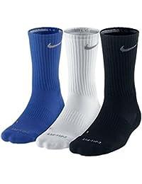 Nike Men's 3-pk. Dri-FIT Cushioned Crew Socks - Made in...