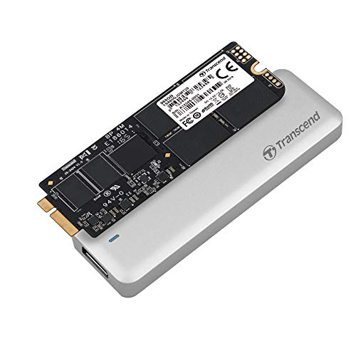 Transcend 960GB JetDrive 725 SATAIII 6Gb/s Solid State Drive Update Kit for MacBook Pro 15' with Retina Display, Mid 2012 - Early 2013 (TS960GJDM725)
