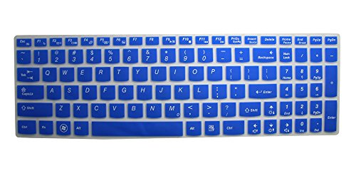 Silicone Keyboard Protector Essential Semi Blue