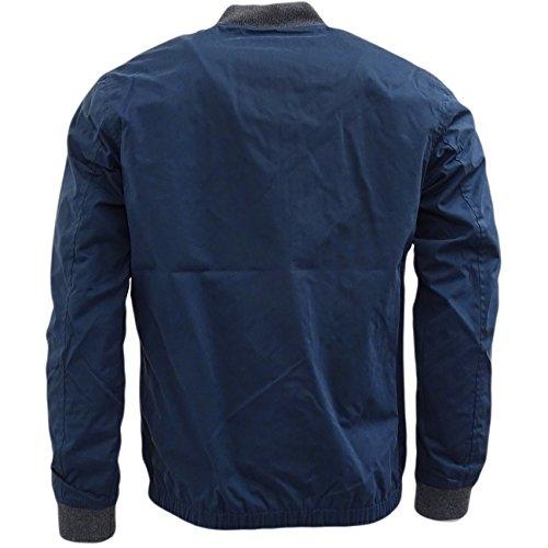 Uomo Giacche Maniche Blu Threadbare Navy Basic Giacca Lunghe AC1Oqpw