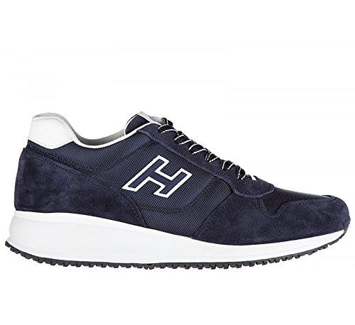 Hogan Scarpe Uomo Interactive N20 Sneaker H 3D + FD Tes HXM2460Y790I9L933Y Blu Puerto Este 4sJzKZMm