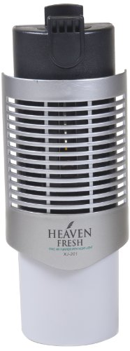 Air Purifier Silver Color (Heaven Fresh HF 20 Air Purifier for Kitchen and Small Areas - Color Silver)