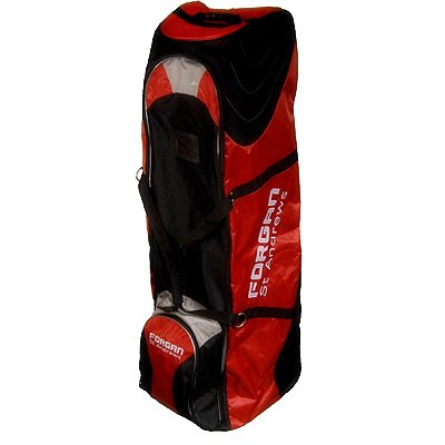 Forgan of St. Andrews Golf Bag TRAVEL COVER RED/Silver, Outdoor Stuffs