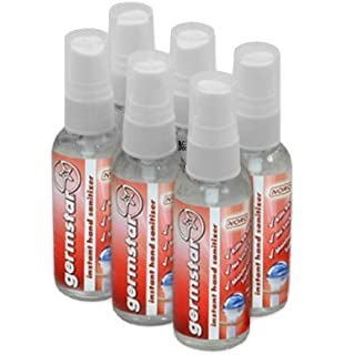 Germstar Noro 59ml (2oz) Hand Sanitiser Spray Bottles (6/case) by