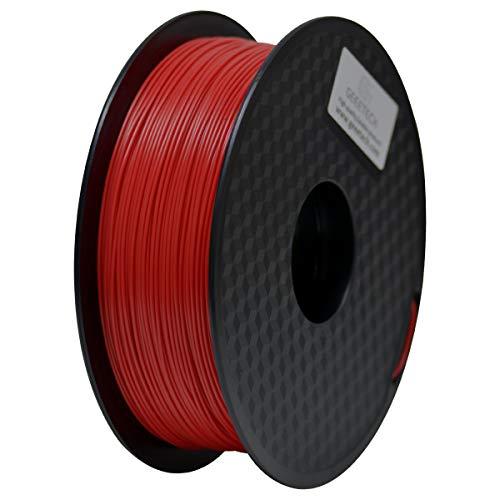 PLA Filament 1.75mm, Geeetech 3D Printer PLA Filament,1.75mm,1kg per Spool,Red