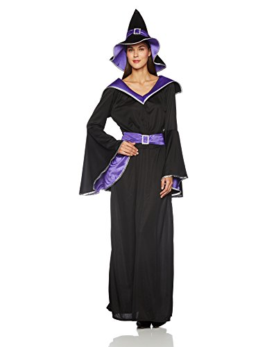 California Costumes Women's Incantasia, The Glamour Witch,Black/Purple,Medium Costume