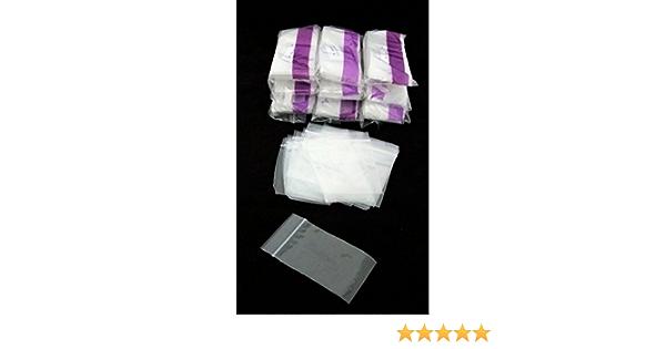 500 Silver Guard Reclosable Anti Tarnish Bags 4X4 Inch Wholesale Lot