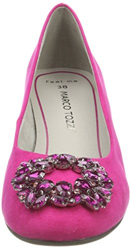 Marco Tozzi 22443, Women's Closed Pumps Pink (Pink)