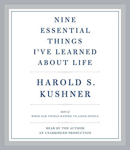Nine Essential Things I've Learned About Life by Random House Audio