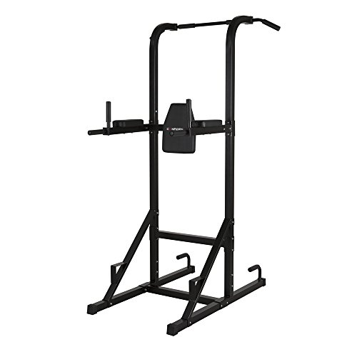 Confidence Fitness Confidence Olympic Power Tower V.2 Black For Sale