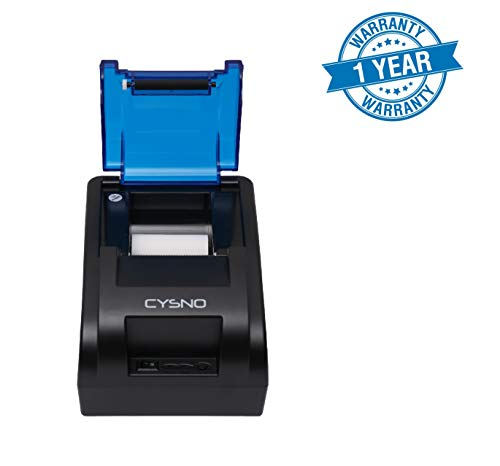 CYSNO BIS Certified Kiosk Printing Support 58MM USB 5890K Thermal Receipt Printer, High Speed Printing 90mm/sec, Compatible with ESC/POS Print Commands Set BIS Certified