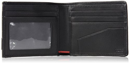 Rfid Black Billfold with Global Men's Blocking Wallet Tumi Double Alpha xZaBwq0