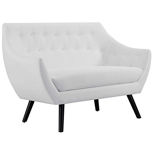 Modway EEI-2550-WHI Allegory Loveseat, White
