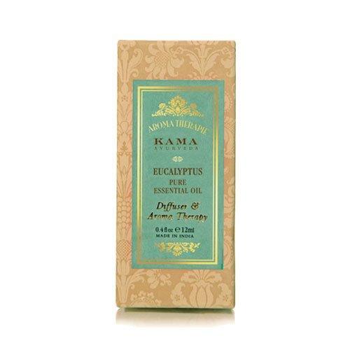 Kama Ayurveda Eucalyptus Pure Essential Oil, 0.40 Fl Oz