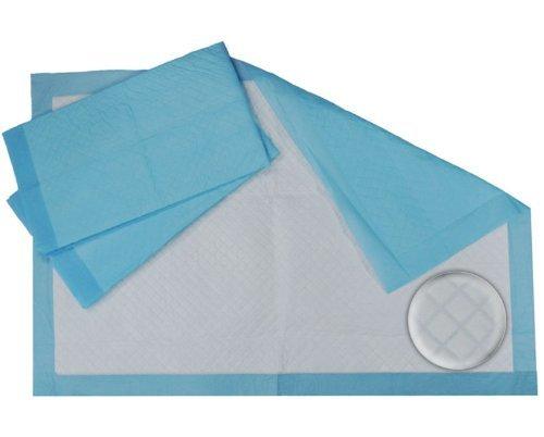 Sanirex Blue Disposable Underpads (Chux), Large Size 23 x 36, Pk/50