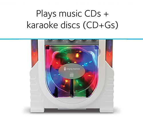Singing Machine Portable Vertical Load Cdg Player Karaoke System by Singing Machine (Image #3)