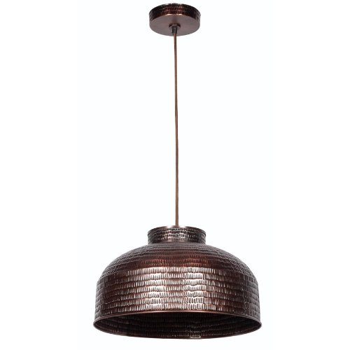 Copper Finish Pendant Light in US - 7