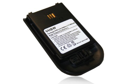 vhbw Akku 900mAh (3.7V) für schnurlos Festnetz Telefon Alcatel omnitouch 8128, omnitouch 8118 wie 0486515, 660190/R1A, DH4-ACAB, u.a..