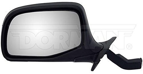 Dorman 955-227 Manual Black and Chrome Replacement Driver Side Mirror - Mirror Drivers Side Chrome Manual