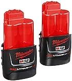 Milwaukee 2401-22 M12 12-Volt Lithium-Ion 1/4