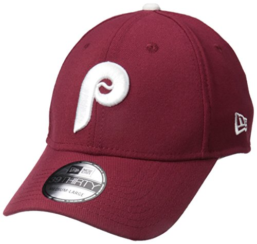 New Era Men's Philadelphia Phillies, Maroon, Medium/Large