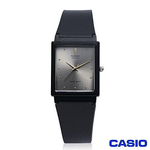 (Casio MQ38-8A Men's Rectangular Classic 3-Hand Analog Watch)
