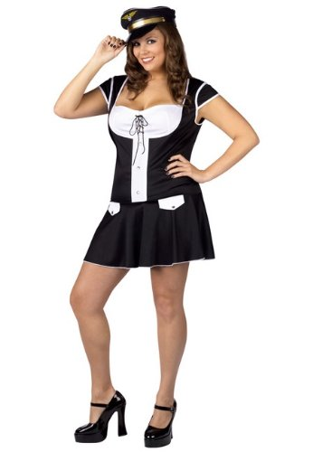 Captain Layover Adult Costume - Plus Size