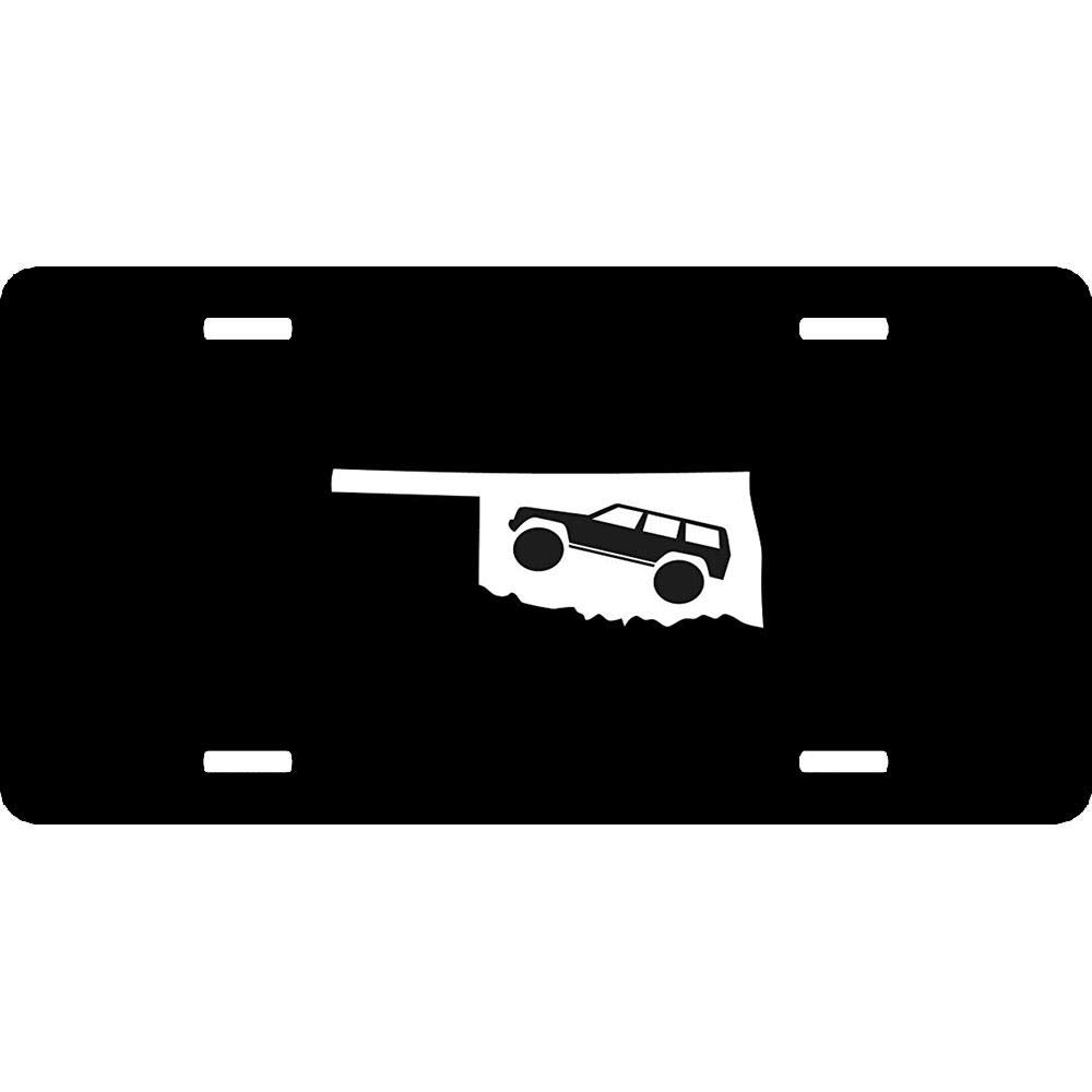 Customized Decorative Front Car Tag Sign for US Vehicles Customizable Humor Funny Novelty License Plates Aluminum