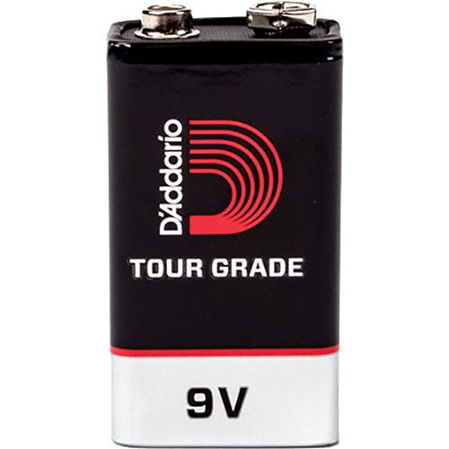 Planet Waves PW-9V-05 by D'Addario Tour-Grade 9V Batteries, 5-Pack D' Addario &Co. Inc