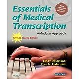 Essentials of Medical Transcription 2nd (second) Edition byDestafano