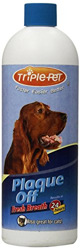 PLAQUE-OFF-Fresh-Breath-for-Dogs-and-Cats-Size16-Oz-PacksPack-of-2