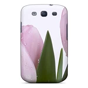 Case Cover Lovely Pink Buds/ Fashionable Case For Galaxy S3