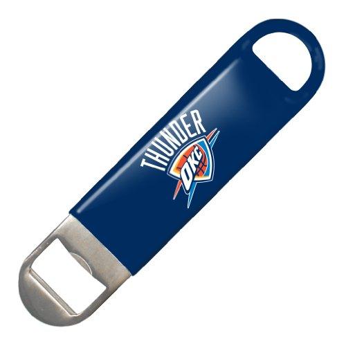 NBA Oklahoma City Thunder Vinyl Covered Long Neck Bottle Opener]()