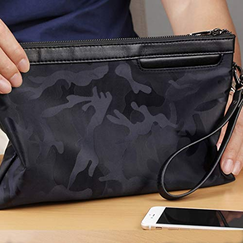 S Black color Camouflage Size En Dress Black Oxford Purple À Noir L'eau Sac Nylon Classique Imperméable Bandoulière Light TSaqnH