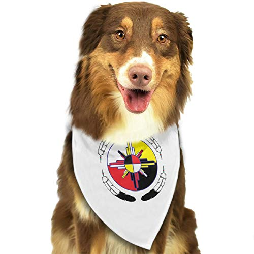 Pet Scarf Dog Bandana Bibs Triangle Head Scarfs Medicine Wheel Accessories for Cats Baby Puppy -