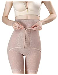 PERISLIM Women's Tummy Control Shapewear Butt Lifter Thigh Slimmer with Hooks