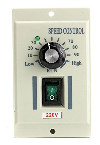 Chariot trading - 220V Control Switch Output DC 0-220V 400W Speed Motor