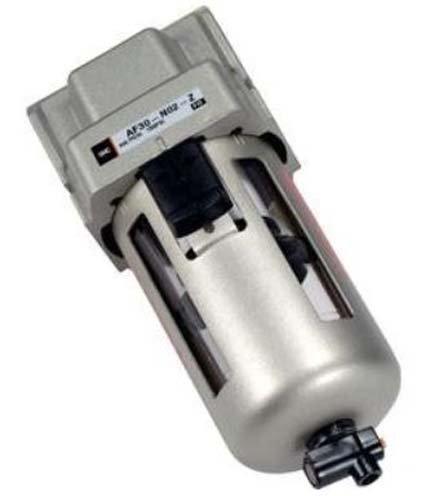 (SMC AF20-N01-2Z-A - Modular Style Air Filter - 1/8 NPT, Bowl Options: Metal Bowl, Manual Drain Type)