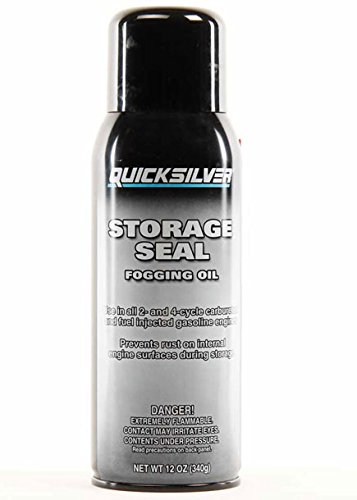 Mercury Mercruiser Quicksilver Boat Marine STORAGE SEAL FOGGING OIL For all 2 & 4 Cycle Carburated & Fuel Injected Gas Engines Outboards Inboard & Sterndrives (Stern Drive Oil Engine)