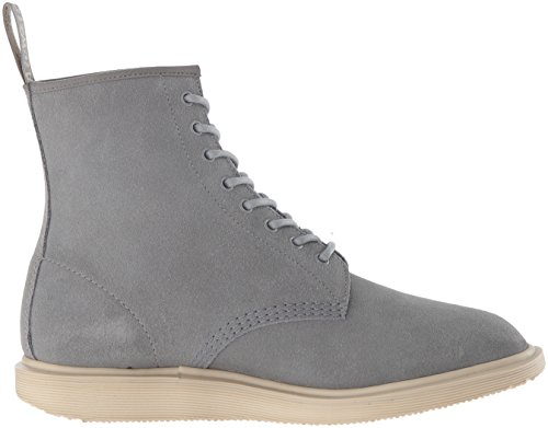 Chukka Martens Grey Mare Men's Dr Waterproof Hi Whiton Suede Boot ZYnAdqg