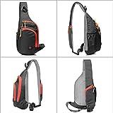 Lecxci Outdoor Chest Sling Bag Lightweight