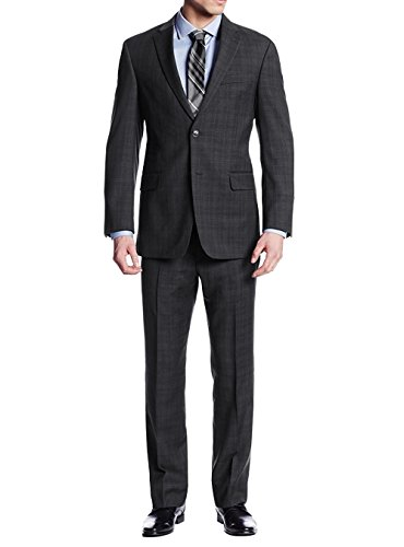 Wool 2 Button Italian Suit - 6