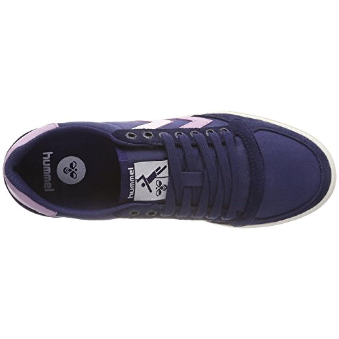 Hummel Slimmer Stadil Duo Canvas Low Sneaker Donna Blu peacoat lavernder Mist 8679 36 Eu