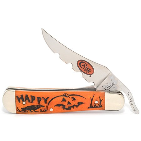 Item No 22385 WR Case And Sons Cutlery Halloween Series Designs by Linda Karst Russlock