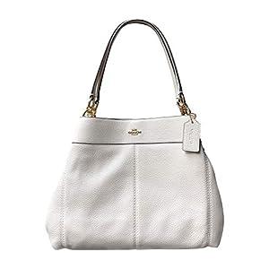 Coach Pebble Leather Lexy Shoulder Bag Handbag