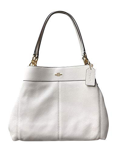 Coach Pebble Leather Lexy Shoulder Bag (IM/Chalk)