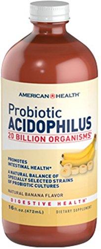 American Health Probiotic Acidophilus, Banana, 16 Fluid -