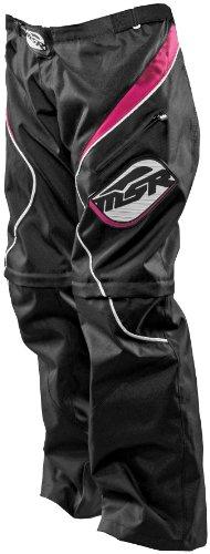 MSR Racing Gem OTB Women's Off-Road Motorcycle Pants - Black/Pink / Size 8